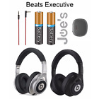 Genuine Silver Beats By Dr Dre Executive Headphones Black Silver Bundle