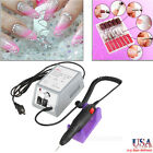 Gel Polish Nail Art Electric Nail Drill Machine Acrylic Kit Set Bits Gel Polish