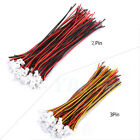 20Pair JST 1.25 2Pin/3Pin Female Male Battery Connector plug Wire Cable Lead coi