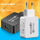 BlitzWolf EU Plug Universal QC3.0 18W USB Quick Charger Adapter For MobilePhones