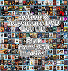 Action & Adventure DVD Lot #1: 250 Movies to Pick From! Buy Multiple And Save! $2.49 CAD