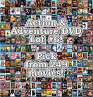 Action & Adventure DVD Lot #6: 249 Movies to Pick From! Buy Multiple And Save! $3.77 CAD