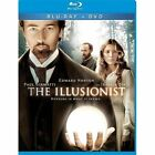 The Illusionist (Blu-ray/DVD, 2010, 2-Disc Set, WS) - NEW!!