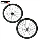 700C Carbon 23mm Width  fixed gear Bicycle Wheel 50mm Clincher Track Wheelset