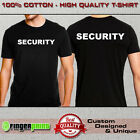 SECURITY POLICE TSHIRT funny costume carnival fun party fancy bouncer