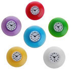 Waterproof Kitchen Bathroom Bath Shower Clock Suction Cup Sucker Wall Decoration