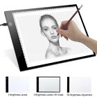 LED Tracing Light Box Board Art Tattoo A4 Drawing Pad Table Stencil Display SL