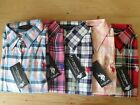 NEW WOMAN'S LADIES LIGHTWEIGHT CASUAL 100%COTTON CHECK SHIRT EX US POLO ASSN