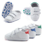 Infant Toddler Baby Boys Girl Soft Crib Shoes Leather Sneakers Anti-slipTrainers