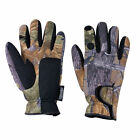 Jack Pyke Hunters Gloves, Neoprene Trigger Finger, Oak Camo.  Shooting & Beating