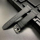Black Kevlar Leather Short Strap Band for IWC Big Top Gun Pilot Portuguese Watch