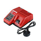 Power Tools Charger for Milwaukee 14.4V-18V Li-ion Battery DC 3.0A M18
