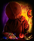 TRICK R TREAT SAM T SHIRT horror movie classic sci fi horror cult 2007 halloween