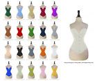 26 Double Steel Boned Waist Training Premium Satin Overbust Shaper Corset #8938