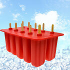 10 Pcs Cool Ice Popsicle Mold DIY Food Grade Silicone Ice Cream Plastic Mold