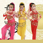Children Perform Dance Costume Belly Dancing Garments Clothing Outfit Dancewear