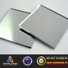 SILVER MIRROR PERSPEX® ACRYLIC SHEET - SELECT YOUR SIZE - FREE POSTAGE!!!