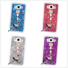 Bling Glitter Diamond Bracelet Dynamic Sparkle Liquid Quicksand Phone Case Cover