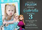 Frozen, Princess, Elsa, Anna, Birthday Party Invitation