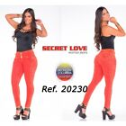 Secret Love  20230pat-r Butt Lifting Jeans - Basic Style - Wide Waistband For Be