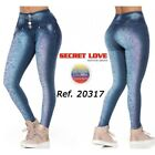 Secret Love  20317pat-n Butt Lifting Jeans - Basic Style - Wide Waistband For Be
