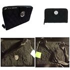 Внешний вид - Vera Bradley Classic BLACK *RETIRED* Crossbody Wallet Luggage