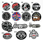 Triumph BSA Norton Cafe Racer Ton up boys Motorcycles Biker Racing Iron on Patch $3.49 USD