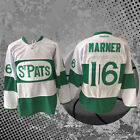 St Pats M 3XL Men 16 Toronto Maple Leafs White Hockey Jersey MITCH MARNER