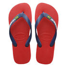 New Original Havaianas Brasil Logo Flip Flops Men Beach Sandals All Sizes Colors