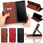 Luxury Leather Case Magnetic Wallet Card Stand Cover For Samsung Galaxy Note 8