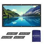 100 120 inch 16:9 Anti-reflection PVC Projector Projection Screen Home Theater