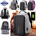 Latest Fashion Anti-nicking USB Charging Travel Backpack Laptop Notebook School US