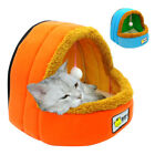 Dog Bed House Blanket Kennel With A Ball Toy Dog Cushion for Puppy and Samll Pet
