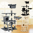 Kitten Cat Tree Scratching Activity Centre Post Sisal Pet Toy Bed 141cm