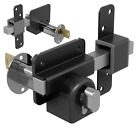 Gatemate Security Garden Shed Gate Lock Euro Long Throw Bolt - Single Locking