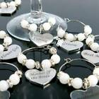 Wine Glass Charms Bottles Handmade Drink Makers Table Decor Wedding Personalised