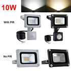 LED Floodlight 10W/20W/30W/50W/100W PIR Sensor Security Outdoor Flood Light IP65