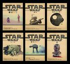 STAR WARS JEDI Minimal Vintage Alternative Movie A3 A4 Posters BUY 1 GET 2 FREE