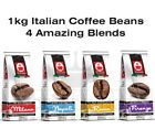 1kg Italian Blend Roasted Coffee Beans: Milano, Napoli, Roma, Firenze