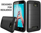 For Coolpad Defiant /3632A Brushed Hybrid Shockproof Armor Tough Hard Cover Case