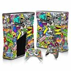 Vinyl Skin Sticker Slim Protect Stickers For Xbo X360 Console+2 Controller Skins