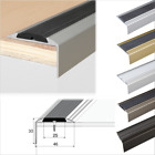 Aluminium Stair Nosing Edge Trim Step Nose Edging Nosings For Carpet,Wood... A38
