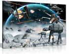 Star Wars Canvas Wall Art Picture Print £24.99 GBP on eBay