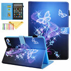For Amazon Kindle Fire HD8 2020 10th/2017 Slim Smart Wallet Leather Case Cover