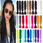 24'' Ombre Dye Kanekalon Jumbo Braiding Synthetic Hair Extension Twist Braid