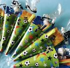 x5-15 Football Party Cones/Party Bags/Sweet Cones/Football Party Supplies