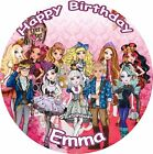 "EVER AFTER HIGH ROUND 7.5""  CAKE TOPPER ICING OR RICEPAPER"