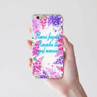Good Memories Flower Print Case Cover for iPhone 8 Samsung Galaxy S8 P9 Sweet