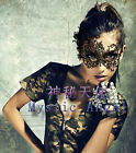 Sexy Women Black Lace Eye Face Mask Masquerade Party Ball Prom Costume US