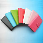 For Vernee Smartphone-Folder Flip Folio PU Leather Case Cover